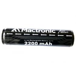 MACTRONIC RAC001B , ogniwo dwubiegunowe 18650 do modeli THH0041, THH0042 i Olight R20 JAVELOT