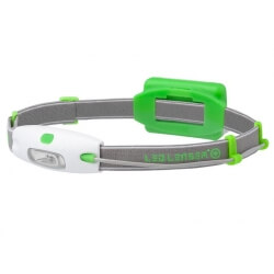 Ledlenser Neo, latarka czołówa, 90 lm, green
