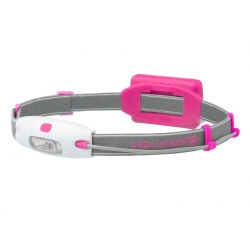 Ledlenser Neo, latarka czołowa, 90 lm, pink
