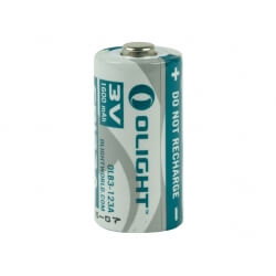 Bateria Olight 3V CR123A 1600 mAh