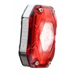 Moon Shield X, akumulatorowa lampa tylna, moc 80 lum.