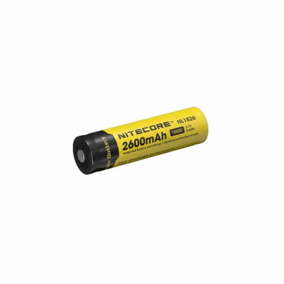 Nitecore NL1826, akumulator 18650 2600mAh