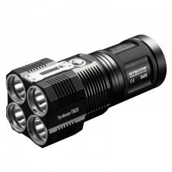 NITECORE TM28, latarka akumulatorowa, moc 6000 lm + 4 OGNIWA 2600 mAh