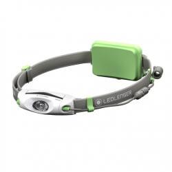 NEO6R, latarka czołowa do biegania, 240 lm, green