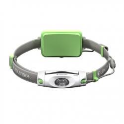 NEO6R, latarka czołowa do biegania, 200 lm, green