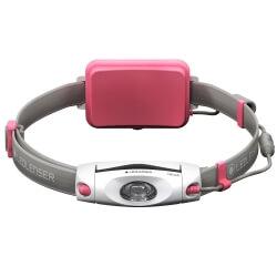 NEO6R, latarka czołowa do biegania, 200 lm, pink