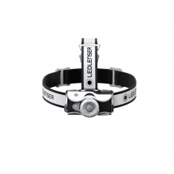 LedLenser MH7, latarka czołowa 600 lm, white-black