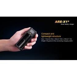 Fenix ARE-X1 Plus,  inteligentna ładowarka jednokanałowa