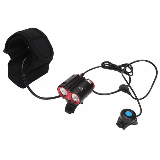 Mactronic T-ROY, ultrajasna lampa rowerowa, 2200 lm