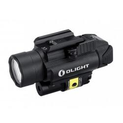 Olight PL-2RL BALDR - latarka taktyczna z laserem, 1200 lumenów