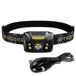 Nitecore NU32, latarka czołowa USB, 550lm