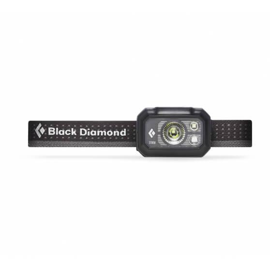 Black Diamond Storm 375, latarka czołowa, 375lm, Graphite