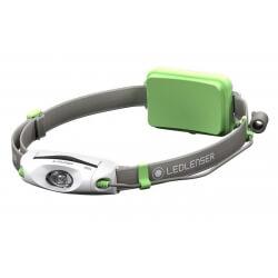 NEO4, latarka czołowa do biegania, 240 lm, green