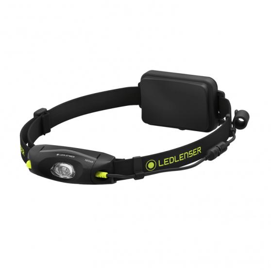 Ledlenser NEO4, latarka czołowa do biegania, 240 lm, black