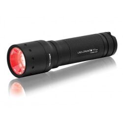 Ledlender T7.2 RED, latarka bateryjna