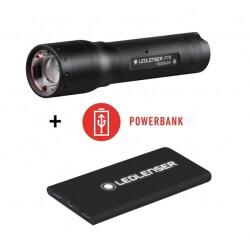 Ledlenser P7R + powerbank , latarka akumulatorowa