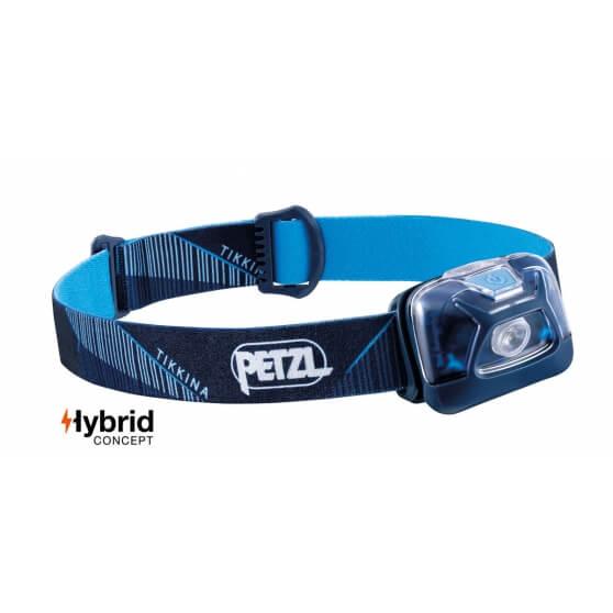 Petzl Tikkina, latarka czołowa, 250 lm,  niebieska