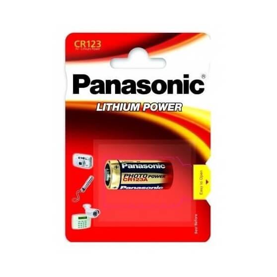 Bateria Panasonic CR123A, BLISTR, 1 SZT