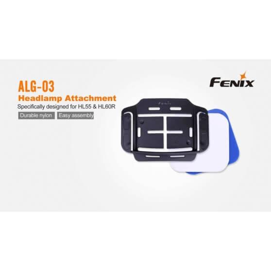 Fenix ALG-03, uchwyt montazowy do kasków