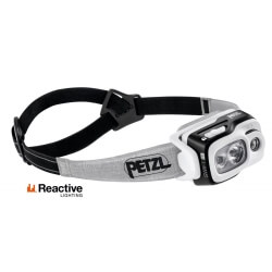 Petzl SWIFT RL, latarka czołowa, 900 lm, black