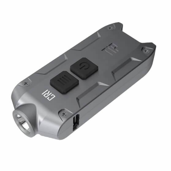 Nitecore Tip CRI, latarka brelokowa, 240lm, steel