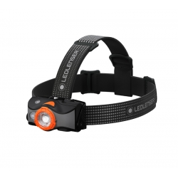 Ledlenser MH7, latarka czołowa, 600lm, black-orange