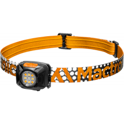 Mactronic REBEL, latarka czołowa, 400 lm, orange