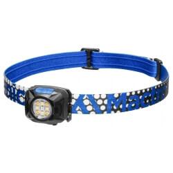 Mactronic REBEL, latarka czołowa, 400 lm, blue
