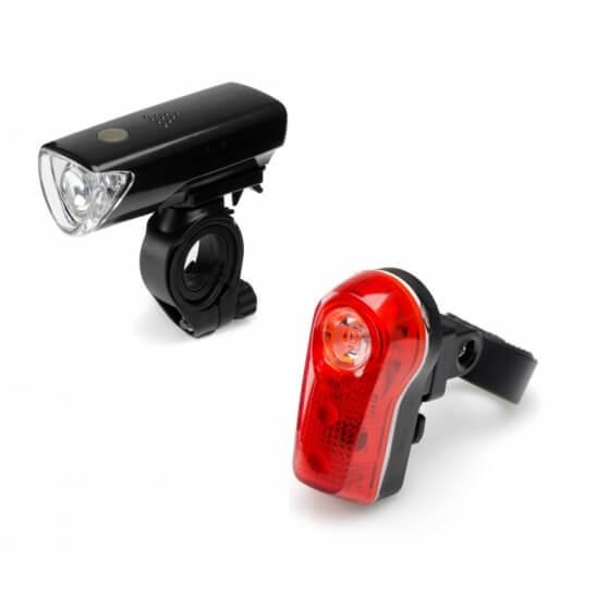 Zstaw lamp rowerowych, Falcon Eye DUO 50lm / 8lm