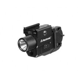 Mactronic T-Force LSR, latarka taktyczna, 550 lm, zielony laser