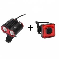 Mactronic T-Roy + Reddy 1.1, zestaw lamp rowerowych