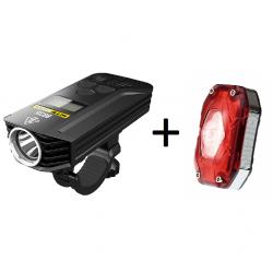 Nitecore BR35 + Moon Shield-X Auto, zestaw lamp rowerowych