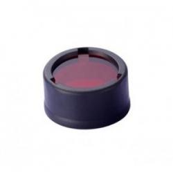 Nitecore NFR23, filtr rozpraszający, czerwony