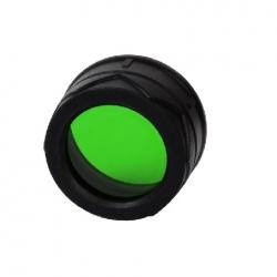 Nitecore NFG34, filtr rozpraszający, zielony