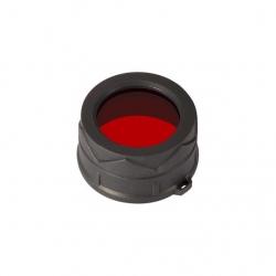 Nitecore NFR34, filtr rozpraszający, czerwony