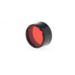 Nitecore NFR25, filtr rozpraszający, czerwony