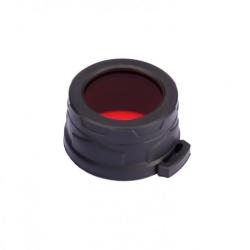 Nitecore NFR40, filtr rozpraszający, czerwony