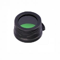 Nitecore NFG40, filtr rozpraszający, zielony