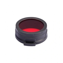 Nitecore NFR60, filtr rozpraszający, czerwony