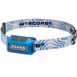 Nitecore NU10 CRI, latarka czołowa, 115 lm, blue