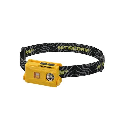 Nitecore NU25, latarka czołowa USB, 360lm
