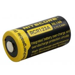 Nitecore NL166 (RCR123A), akumulator, 650mAh