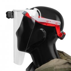 Mactronic Sunscan 5.3 Mask, przyłbica ochronna z oświetleniem, 300 lm