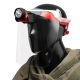 Mactronic Trident HAZ-LO Mask, przyłbica ochronna z oświetleniem, 85 lm, ATEX