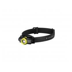Ledlenser MH5, latarka czołowa, 400 lm, black/yellow