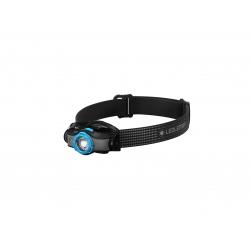 Ledlenser MH5, latarka czołowa, 400 lm, black/blue