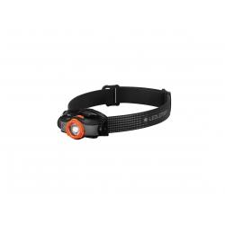 Ledlenser MH5, latarka czołowa, 400 lm, black/orange