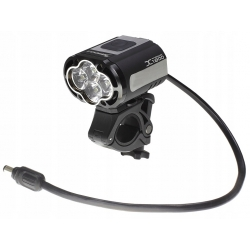 Moon XP-1800, ultrajasna lampa rowerowa,  1800 lm