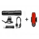 Mactronic Scream 3.1 + Red Line, zestaw lamp rowerowych