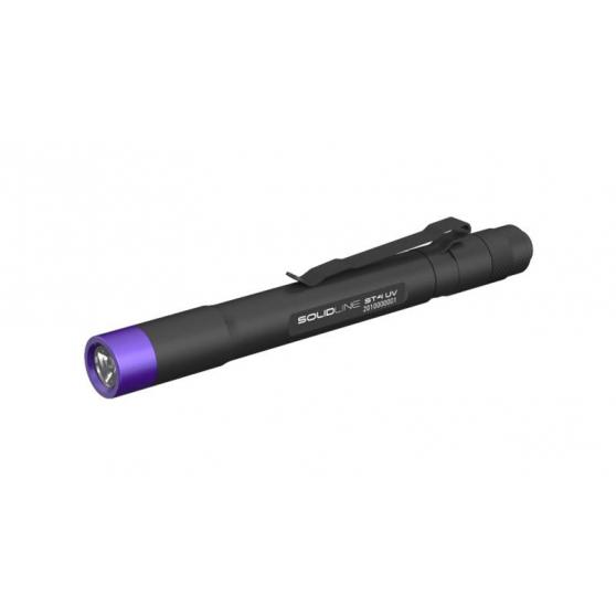 Solidline ST4UV black, 180lm